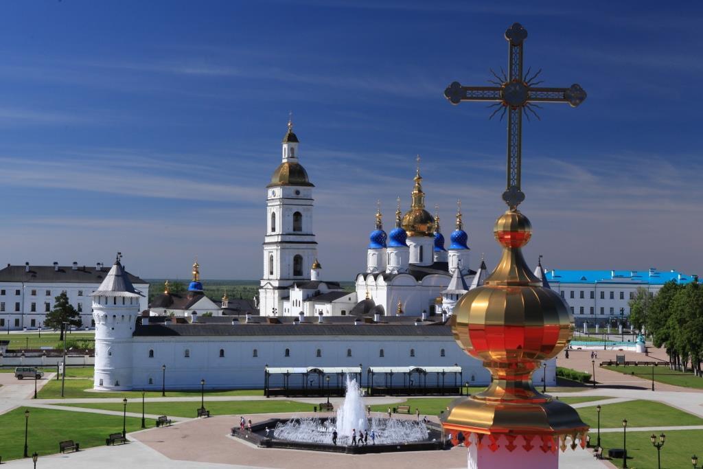 Экскурсия по Кремлю для тоболяков.