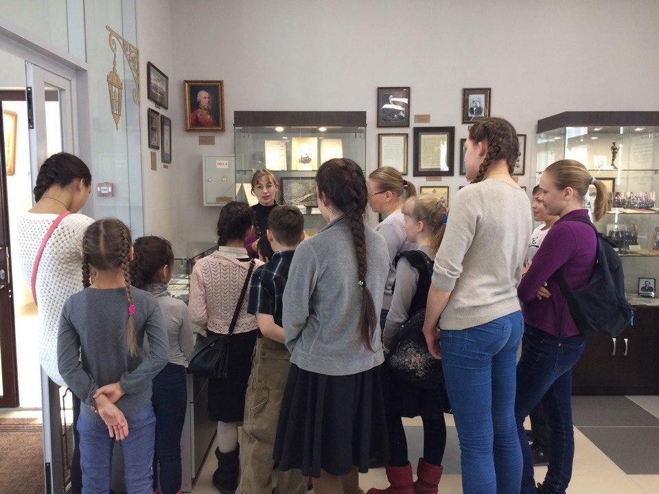 Посещение Музея печати