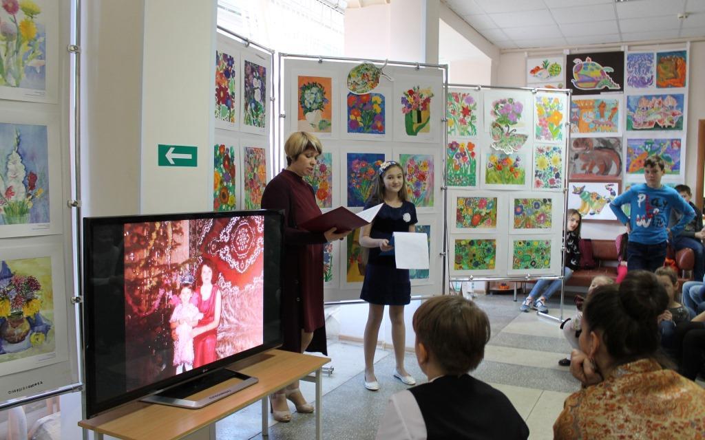 Открытие выставки «Вальс цветов», посвященной Всероссийскому дню матери