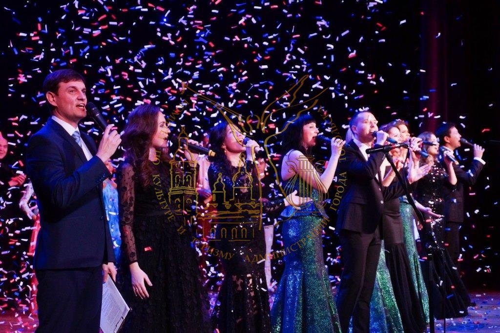 Концерт, посвященный 30-летию ДК