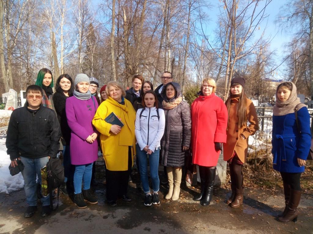 День памяти П.А. Словцова в рамках акции «Благодарные потомки»