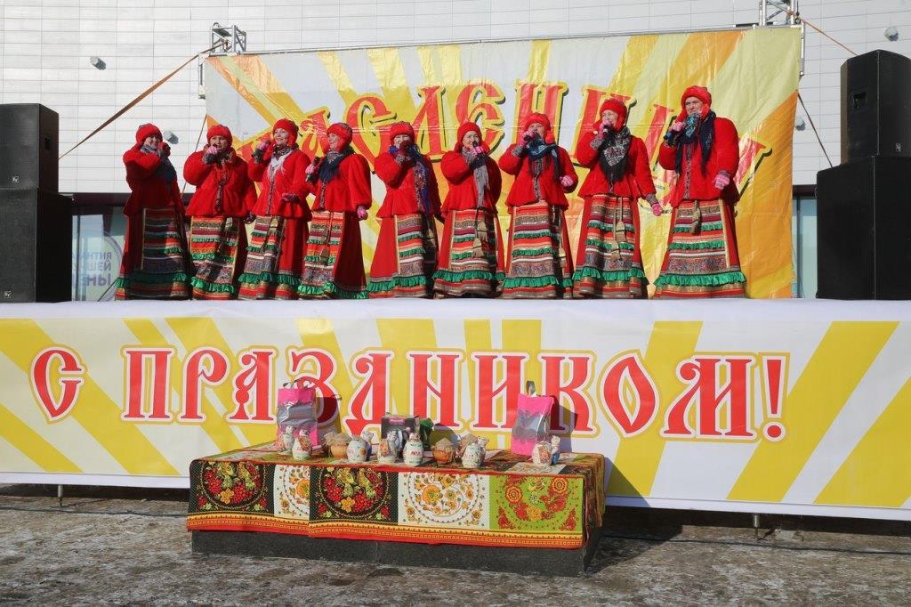 Самая широкая масленица в Тобольске прошла на площади им. Д.И. Менделева