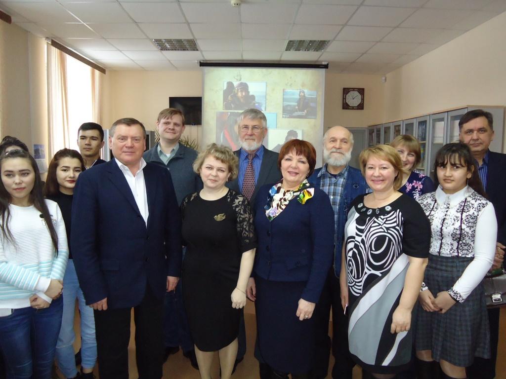«Встреча с лауреатами премии Федора Конюхова»