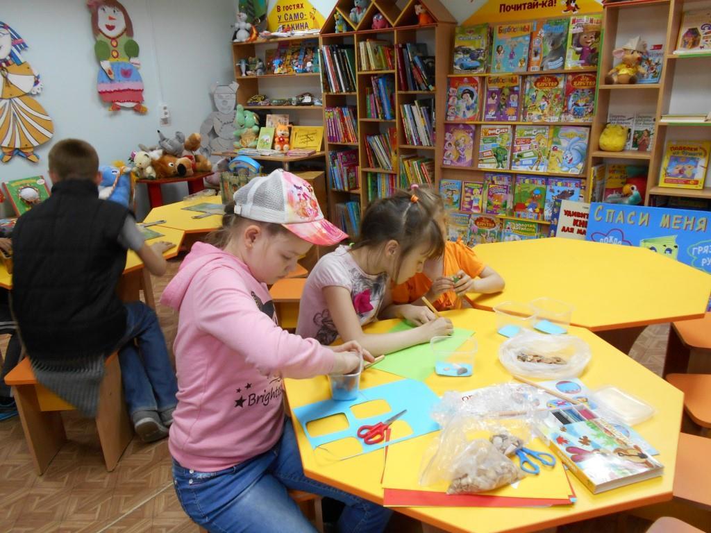 Заседание клуба в Детской библиотеке им. П.П. Ершова