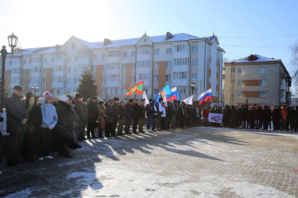 В Тобольске прошел митинг, посвященный Дню памяти о россиянах, исполнявших служебный долг за пределами Отечества