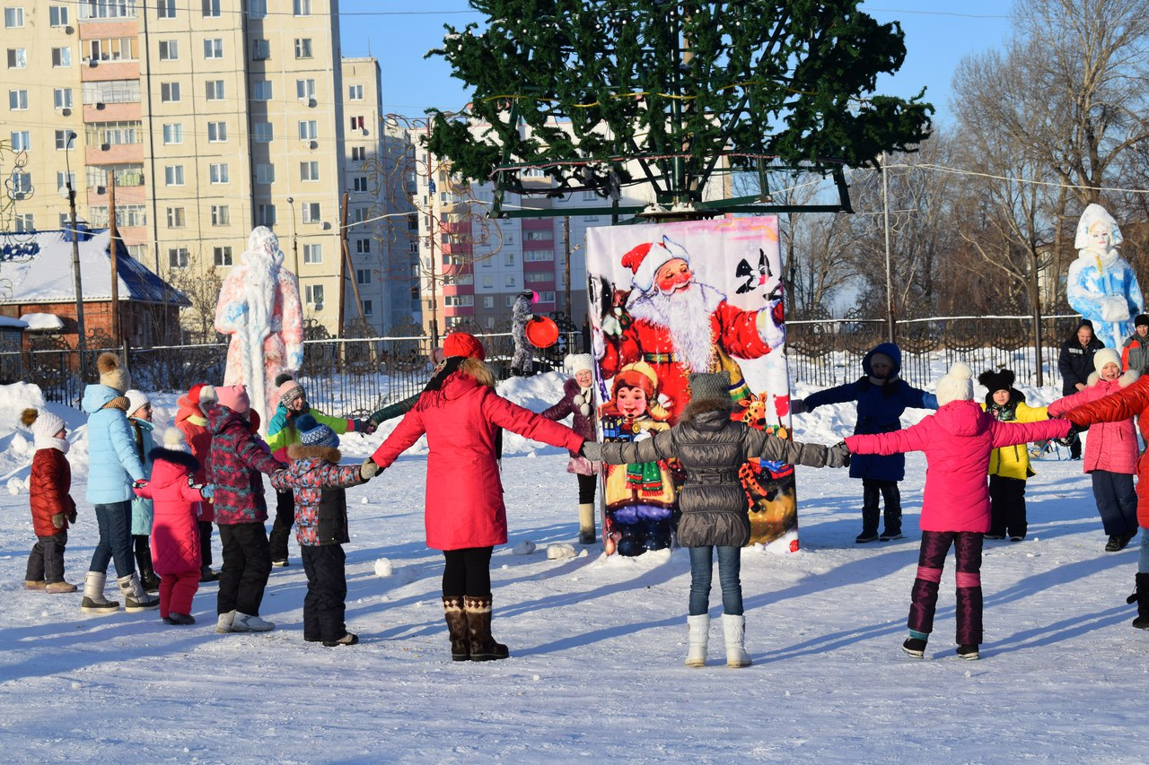 Жители Сумкино побывали на рождественских гуляниях