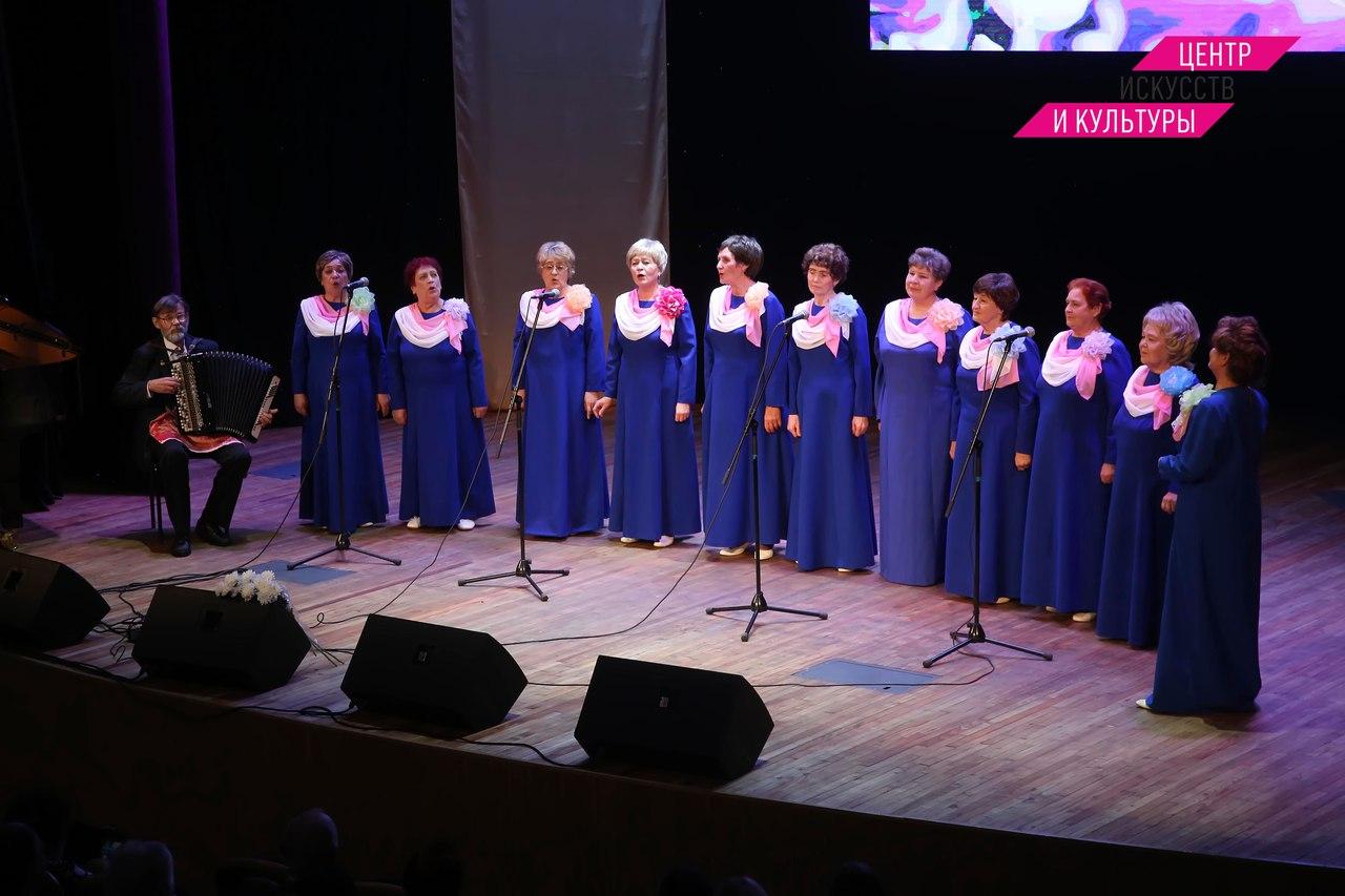 В ДК «Синтез» прошел открытый городской конкурс «Как живешь, ветеран?»