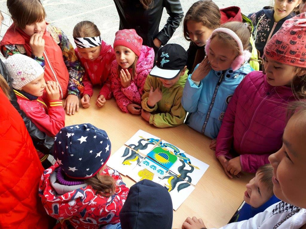 Юные жители Иртышского участвовали в квесте, посвященном Дню Тюменской области