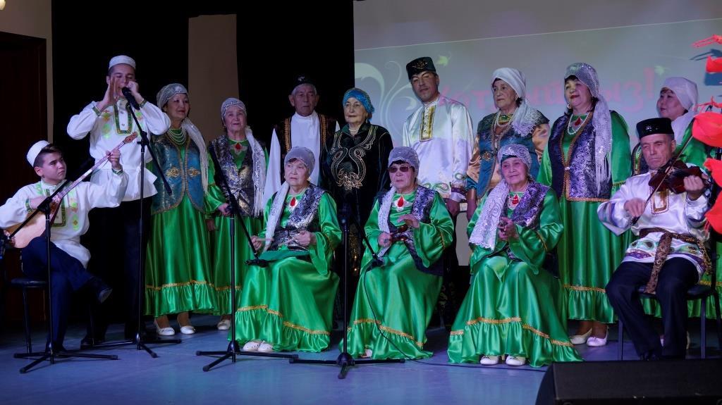 Юбилейный концерт, посвященный 10-летию вокального ансамбля ветеранов