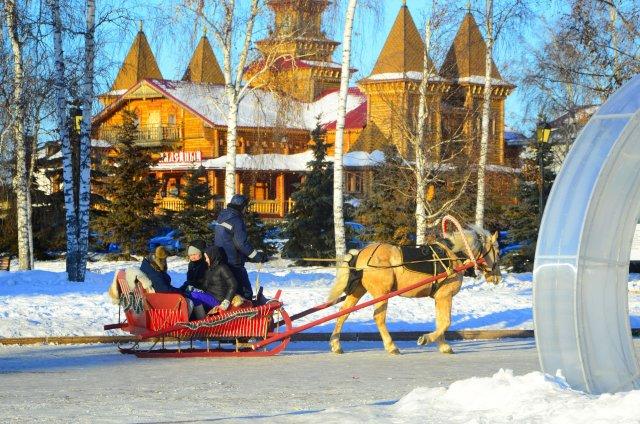 Новогодние и Рождественские праздники в Тобольске!