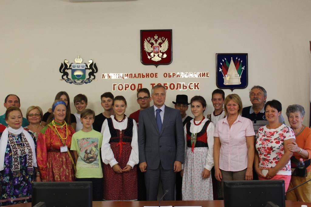 Визит в Тобольск венгерской делегации