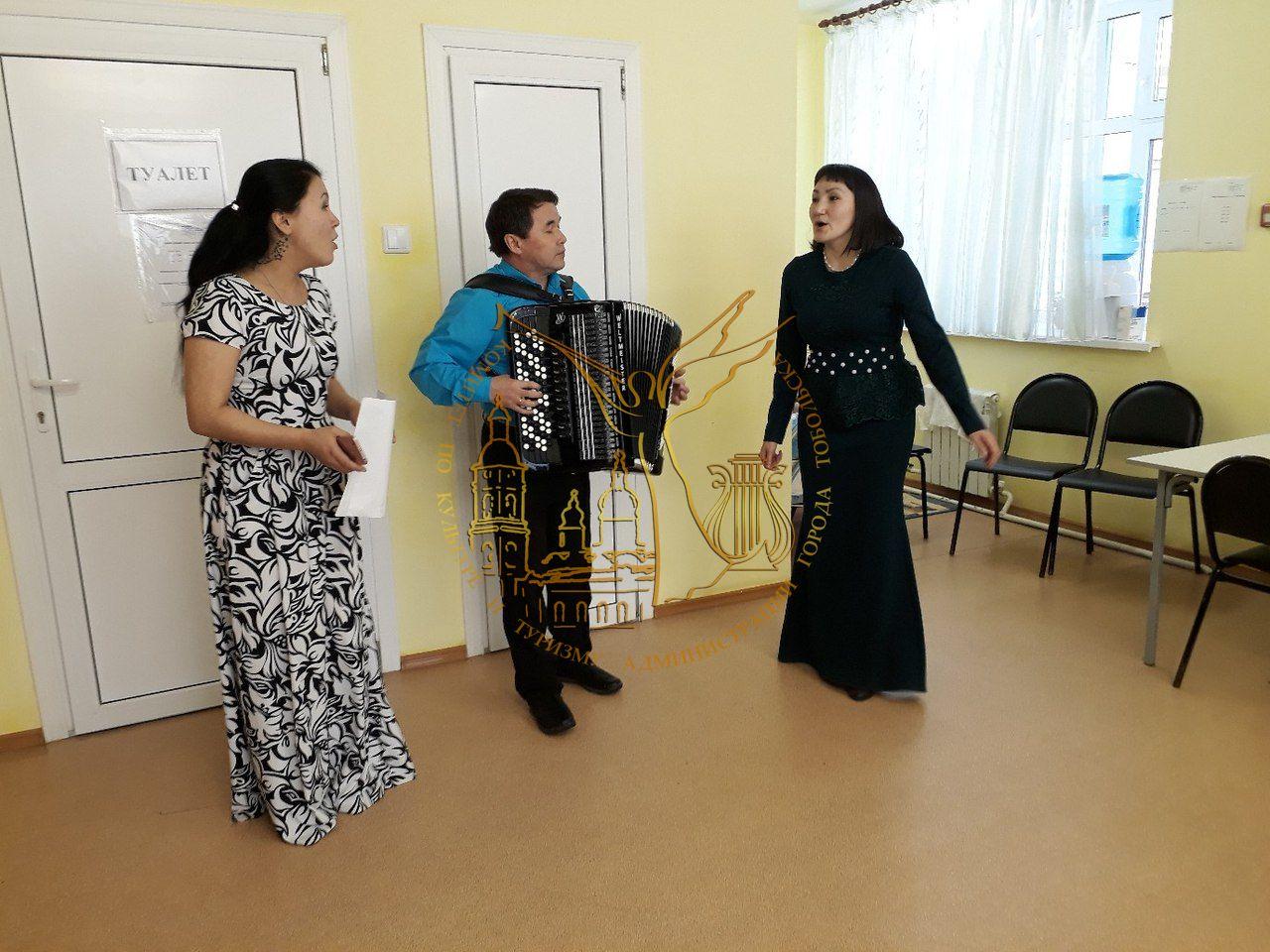 Артисты Центра сибирско-татарской культуры выступили с концертами для социально незащищённых тоболяков